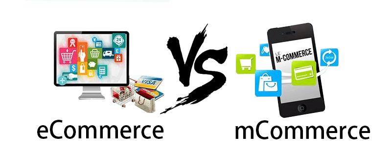 mCommerce vs eCommerce