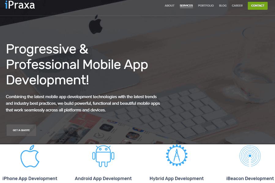 iPraxa Mobile App Development