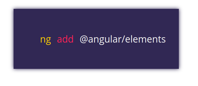 Angular 6: ng add