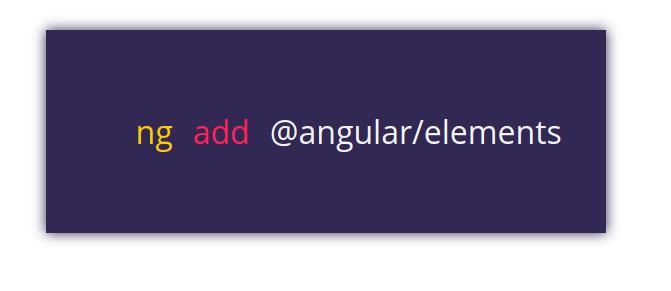 Angular 6 Elements