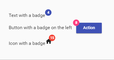 Angular 6: Badge Component