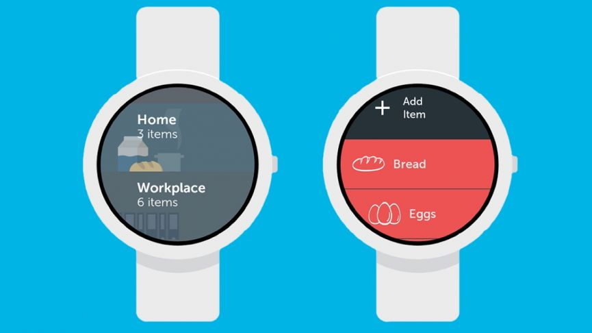 Bring Shopping List - Android Wear App