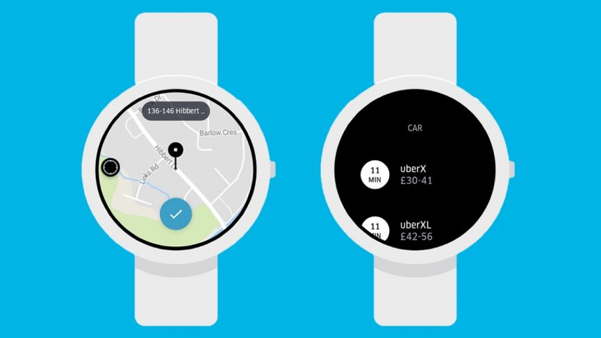 Uber Wearable App