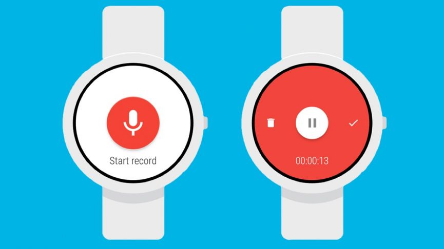 Wear Audio Recorder - Android Wear App