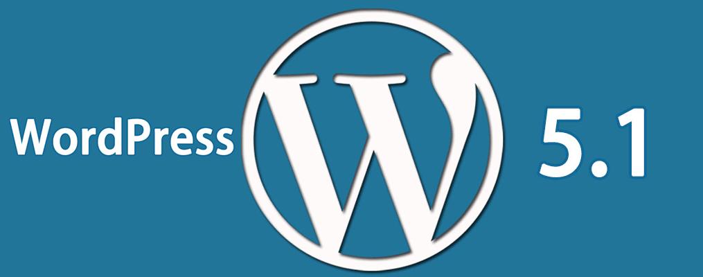 WordPress 5.1