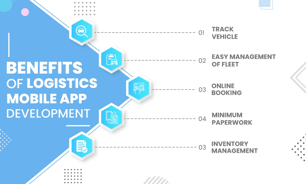 Benefits of Logistics App Development