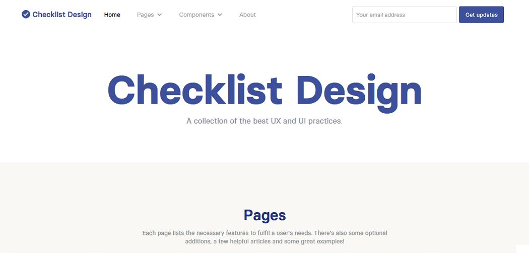 Checklist Design Image 2
