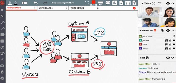 BrainCert Virtual Classroom
