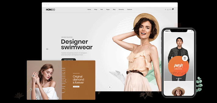 Hongo WordPress Theme