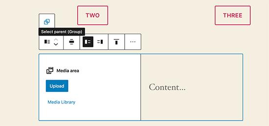 WordPress 5.5 - Streamlined Block Navigation