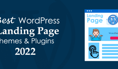 WordpPress Landing Page