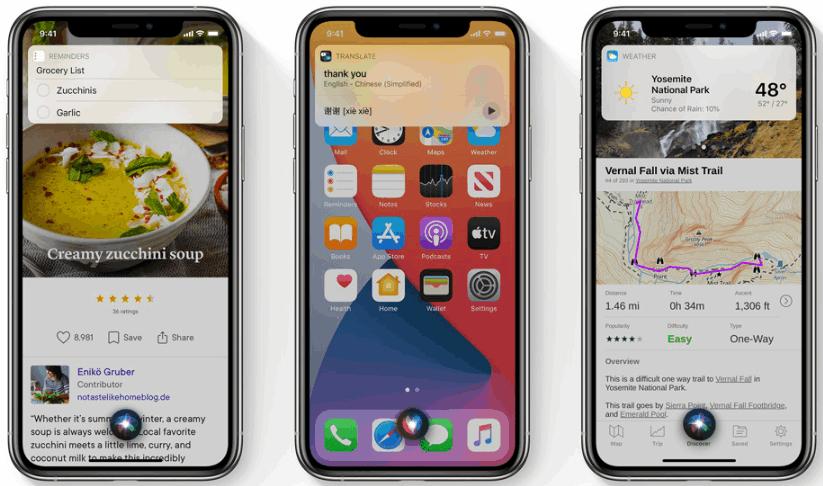 iOS 14 - Compact & Smarter Siri