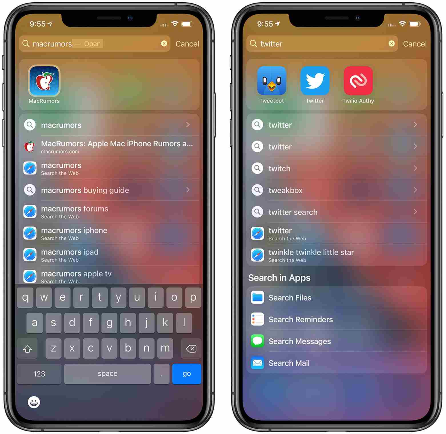 Better Search - iOS 14 Feature