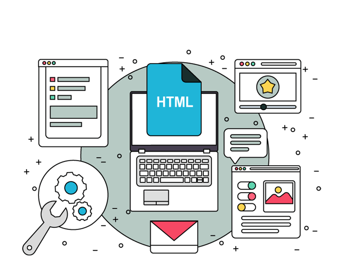 PSD to HTML Frontend Development Service